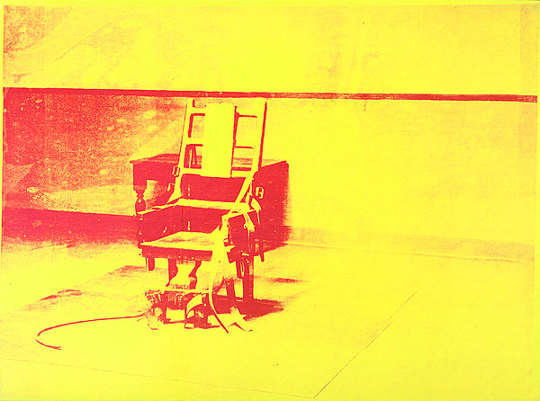 Electric chair, Warhol
